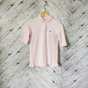 🌿 3/$20 Girls Lacoste Pink Polo